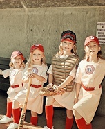 A League of Our Own Homemade Costume