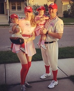 A League of Their Own Homemade Costume