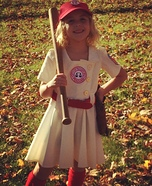 A League of Their Own Dottie Hinson Homemade Costume
