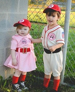 A League of Thier Own Homemade Costume