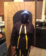 A light at the end of the Tunnel Homemade Costume