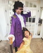 A Princess and her Prince Homemade Costume