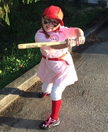 A Rockford Peach Homemade Costume