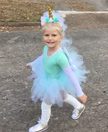 A Unicorn Named Sparkle Homemade Costume