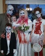 A Zombie Wedding Homemade Costume