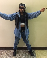 Aaliyah Homemade Costume