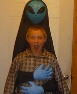 Abducted by Alien Halloween Costume