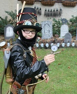 Steampunk Vampire Hunter Costume