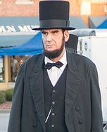 Abraham Lincoln Homemade Costume