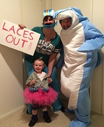 Fun family Halloween costume ideas - Ace Ventura Pet Detective Homemade Costume