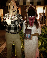 Beetlejuice Adam and Barbara Maitland Homemade Costume