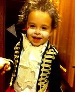 Adam Ant Baby Homemade Costume