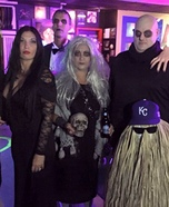 Addams Family Homemade Costume