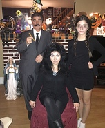 Addams Family Halloween Costume