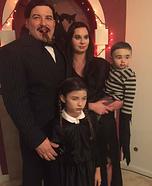 Addams Family Homemade Costume