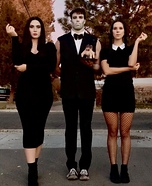 Addams Family College Roomies Homemade Costume