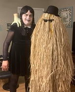 Addams Family Gone Wrong Homemade Costume