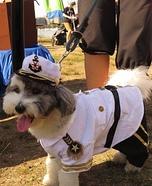 Admiral Ollie Dog Homemade Costume