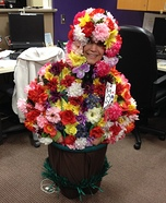 Adult Flower Pot Homemade Costume