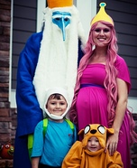 Adventure Time Homemade Costume