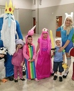 Family costume ideas - Adventure Time Family Costumes