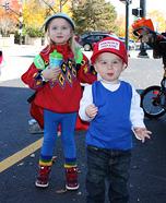 Adventures in Babysitting Homemade Costume