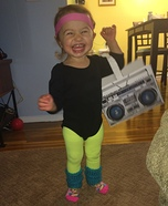 Aerobics Girl Homemade Costume