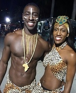 African King and Queen Homemade Costume