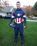 Age of Ultron Captain America Homemade Costume