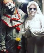 AHS Couple Homemade Costume