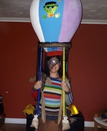 Air Ballon Homemade Costume