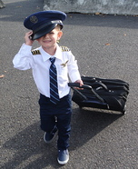 Airline Pilot Homemade Costume