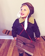 Airplane Pilot Homemade Costume