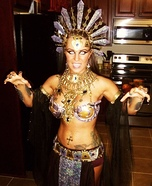 Creative DIY Costume Ideas for Women - Akasha-Queen of the Damned Costume