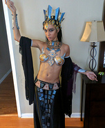 DIY Akasha Queen of the Damned Costume