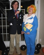Pregnant couples costume ideas - Al Gore and Global Warming Couple Costume