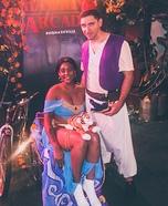 Aladdin and Jasmine Homemade Costume
