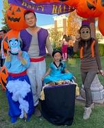 Aladdin and Jasmine with Magic Carpet Homemade Costume
