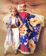 Aladdin and Magic Carpet Homemade Costume