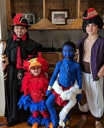 Aladdin Characters Homemade Costume