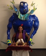 Aladdin & Genie Homemade Costume