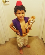 Aladdin Toddler Homemade Costume