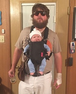 Alan and Carlos from The Hangover Homemade Costume