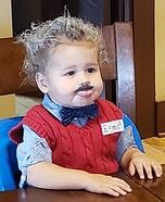 Albert Einstein Homemade Costume