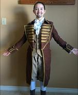Alexander Hamilton Homemade Costume