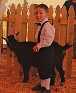 Homemade Alfalfa Costume