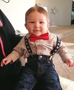Cute baby costume ideas: Alfalfa Baby Costume