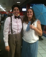 Alfalfa and Darla Couples Costume