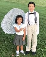 Alfalfa and Darla Homemade Costume