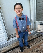 Alfalfa Boy Homemade Costume